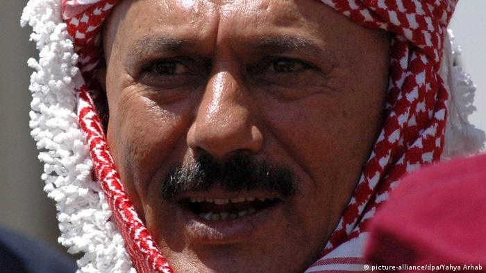 Jemen Ali Abdullah Saleh 2005 (picture-alliance/dpa/Yahya Arhab)