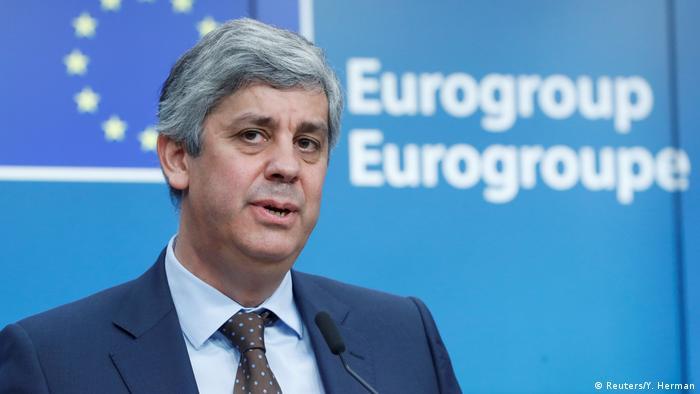 Belgien Brüssel Präsident der Eurogruppe Mario Centeno