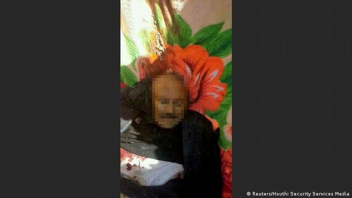 Jemen Leiche des getöteten Ex-Präsidenten Ali Abdullah Saleh (Reuters/Houthi Security Services Media)