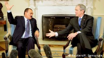 Jemen Ali Abdullah Saleh und George W. Bush 2007