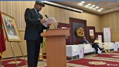 """عصام الخماسي """"زعيم"""" الأحمدية في المغرب (أرشيف)"""