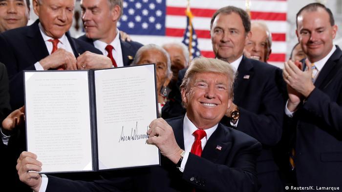 USA Trump verkleinert Naturschutzgiebte in Utah drastisch