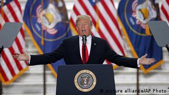 O presidente dos Estados Unidos, Donald J. Trump