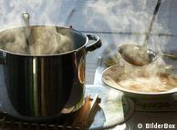 фото кастрюли с супом