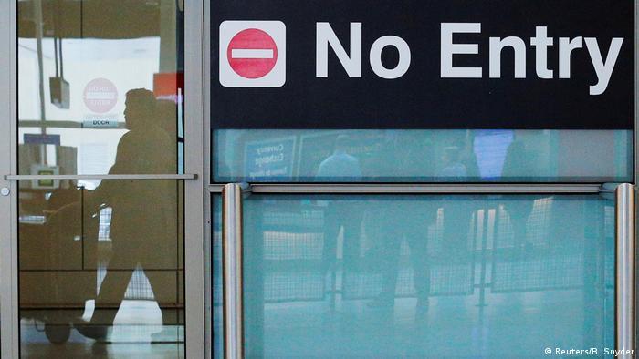 USA Symbolbild Einreiseverbot (Reuters/B. Snyder)