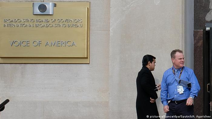 USA Voice of america Sitz in Washington (picture-alliance/dpa/Sputnik/A. Agarishev)