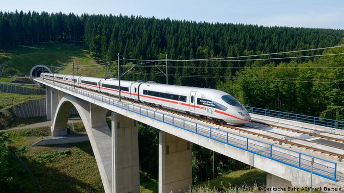 Bildergalerie Verkehrsprojekt Deutsche Einheit Nummer 8 (Deutsche Bahn AG)