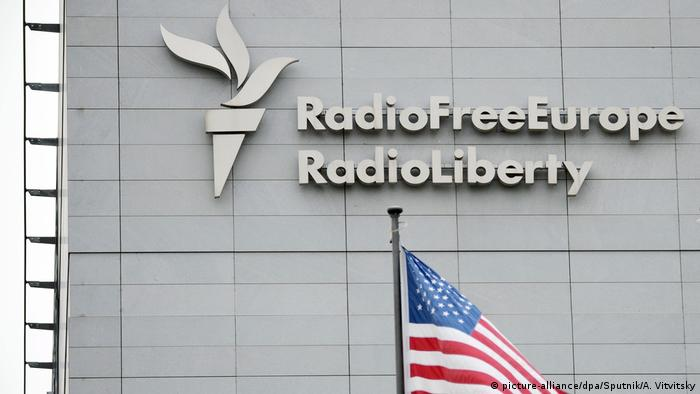 USA Russia Radio Free Europe in Prag