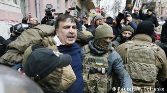 Затримання Саакашвілі в Києві