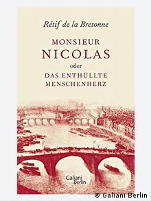 Buchcover Monsieur Nicolas oder Das enthüllte Menschenherz