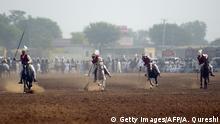 Pakistan Kavalleriesport Tentpegging