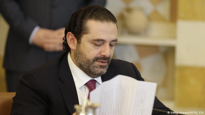 Libanon Saad Hariri