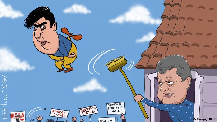 Karikatur von Sergey Elkin (Sergey Elkin)
