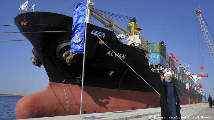 Iran Einweihung des Hafens von Chabahar durch Hassan Rouhani