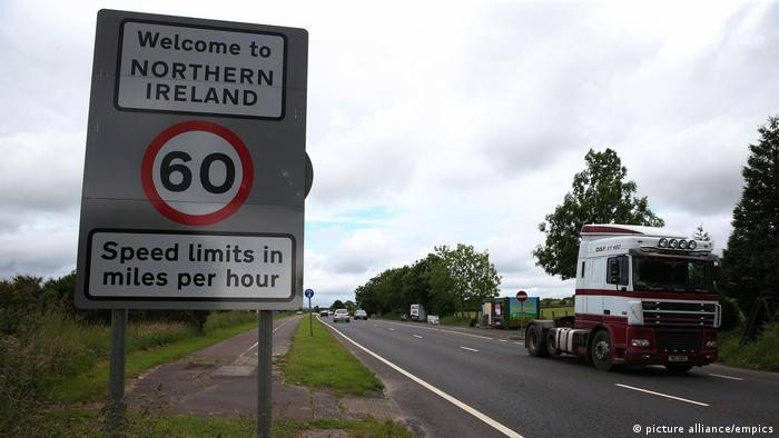 The border between the Republic and Northern Ireland