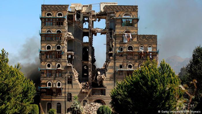 Objective of the Saudi bombs: the capital of Yemen, Sana'a