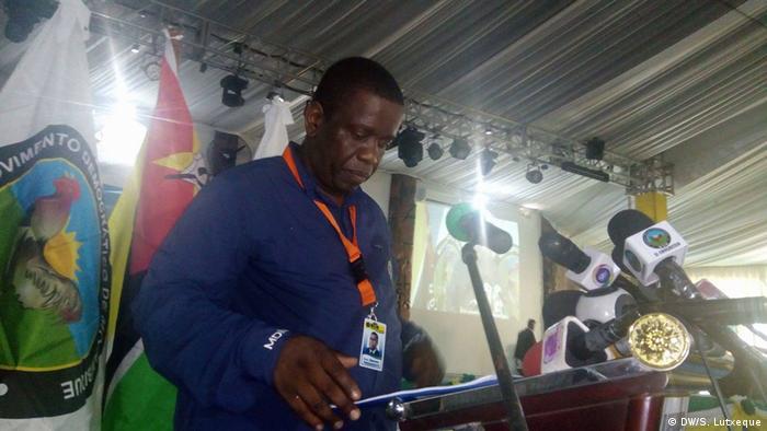Daviz Simango, líder do MDM