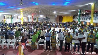 Mosambik II Kongress von MDM Partei in Nampula