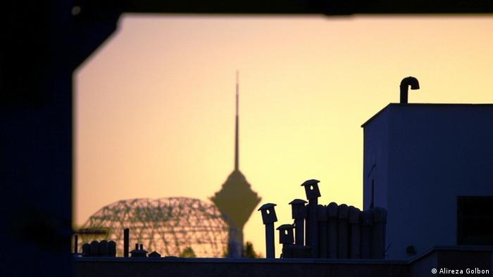 غروب تهران