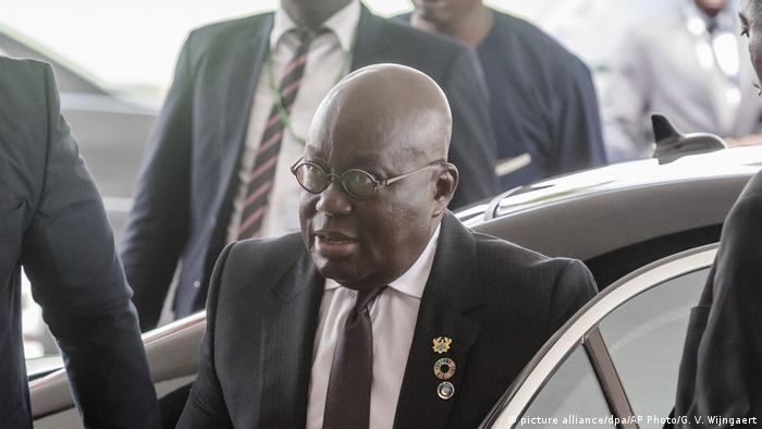 Ghanas Präsident Nana Akufo-Addo
