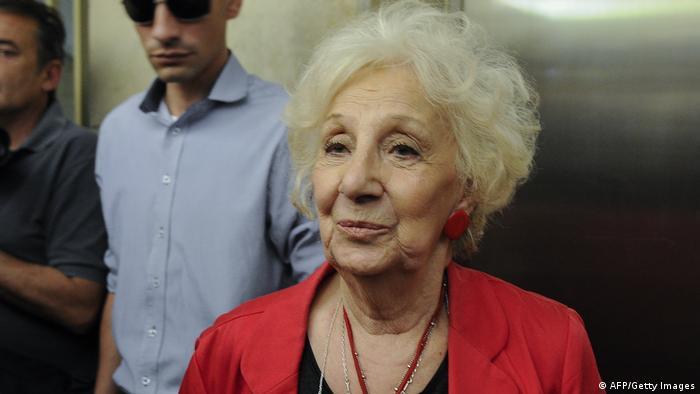Grandmothers of Plaza de Mayo argentinische NGO Estela de Carlotto (AFP/Getty Images)