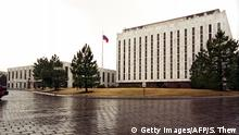 WASHINGTON, : The Russian flag flies at the embassy compound in Washington, DC, 04 March, 2001. The New York Times reported 04 March that the US government burrowed a secret tunnel under the embassy when it belonged to the Soviet Union, and Moscow was tipped off about the operation by accused spy Robert Hanssen. Quoting current and former US intelligence and law enforcement officials, the Times reported that the secret tunnel operation was part of a broad US effort to eavesdrop on and track first Soviet, and later Russian facilities and personnel. The operation was run jointly by the Federal Bureau of Investigation (FBI) and National Security Agency (NSA). The officials estimated that the tunnel construction and related intelligence-gathering activities cost several hundred million dollars, making it one of the most expensive intelligence operations ever that Hansen revealed to Moscow. Hanssen, a veteran counter-intelligence officer with 27 years of service at the FBI, was arrested 18 February. AFP PHOTO/SHAWN THEW (Photo credit should read SHAWN THEW/AFP/Getty Images)