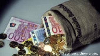 Ein Sack voller Geld (Foto: Picture-Alliance)