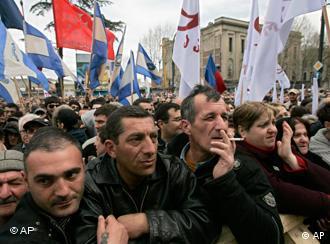 Оппозиция требует отставки Михаила Саакашвили