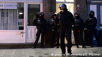 Police raid leftists