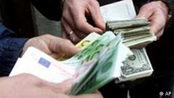 Umtausch Euro Dollars