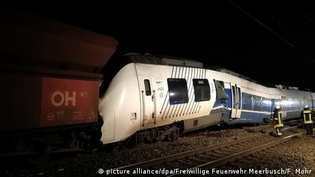 Зіткнення потягів поблизу Дюссельдорфа: є потерпілі