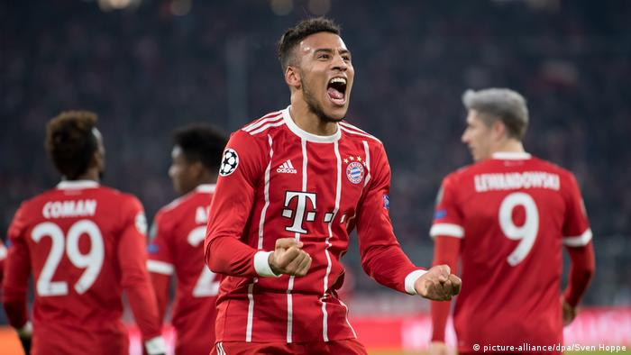 Champions League Bayern München - Paris St. Germain Tolisso (picture-alliance/dpa/Sven Hoppe)