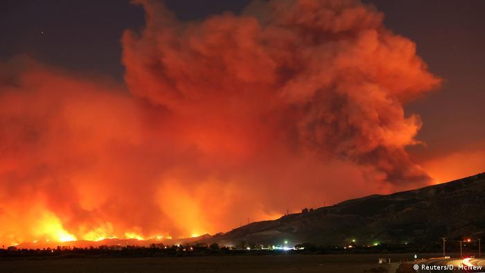 USA Kalifornien Waldbrände Thomas Fire