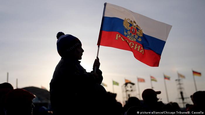 Olympia Russland Fan Symbolbild Ausschluß