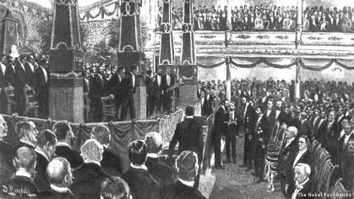 Nobelpreis Verleihung 1901
