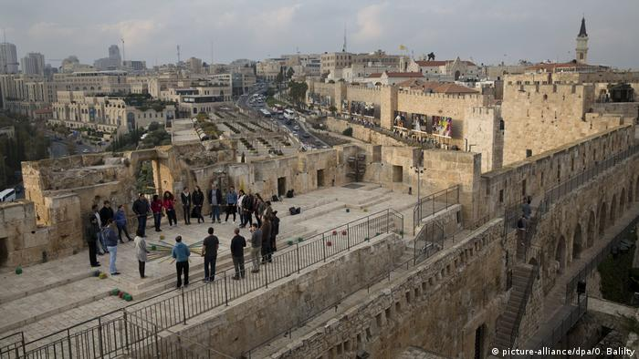 Jerusalem Davidszitadelle Stadtansicht (picture-alliance/dpa/O. Balilty)