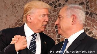 Jerusalem US-Präsident Trump Benjamin Netanjahu
