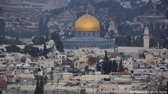 Jerusalem Felsendom Stadtansicht (picture-alliance/AP/O. Balilty)