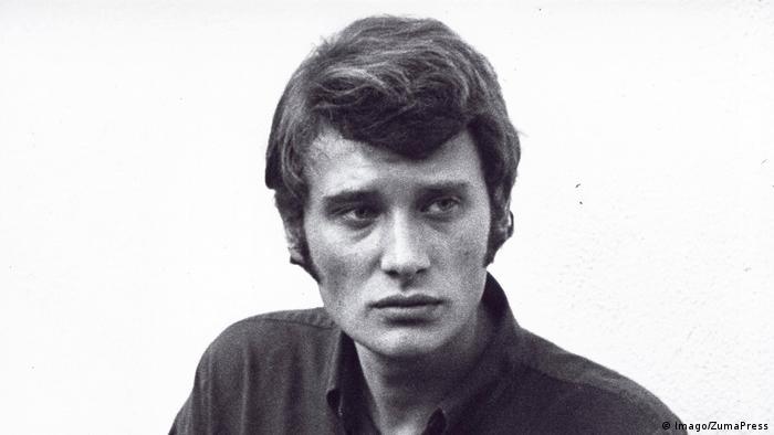 Johnny Hallyday as a young man (Imago/ZumaPress)