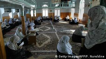 Γυναίκες προσεύχονται σε τζαμί της Κομοτηνής