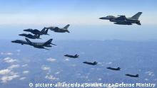 Luftwaffenübung von Südkorea und USA (picture-alliance/dpa/South Korea Defense Ministry)