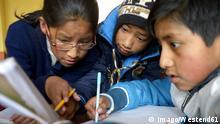Bolivia, El Alto, Pupils working in classroom PUBLICATIONxINxGERxSUIxAUTxHUNxONLY FLK000265 Bolivia El Alto Pupils Working in Classroom PUBLICATIONxINxGERxSUIxAUTxHUNxONLY FLK000265