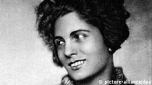 Porträt der deutschen Schauspielerin Carola Neher. Die 1900 in München geborene Künstlerin starb 1942 im sowjetischen Straflager Soll-Ilezk bei Orenburg an Typhus. | Verwendung weltweit