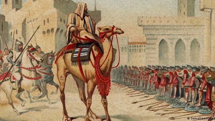 Por orden del califa Omar, en el año 637 Jerusalén fue sitiada y tomada. En la era de dominio musulmán que se inició entonces, la ciudad fue sitiada en múltiples ocasiones y cambió varias veces de gobernantes.