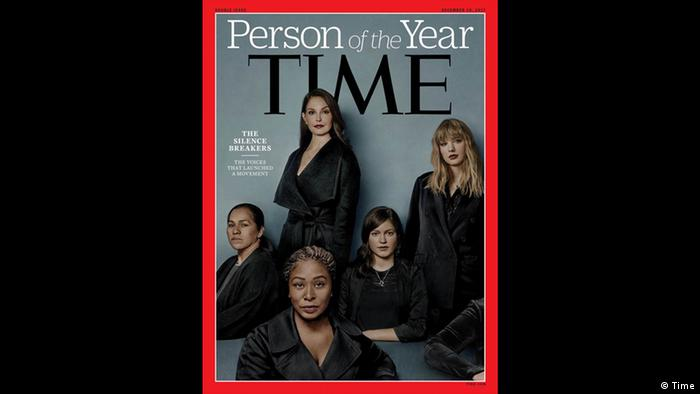 Cover Time magazine's Person of the Year is 'The Silence Breakers' (Time)