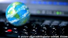 Globales Internetverbindung (picture-alliance/Bildagentur-online/E. Elissee)