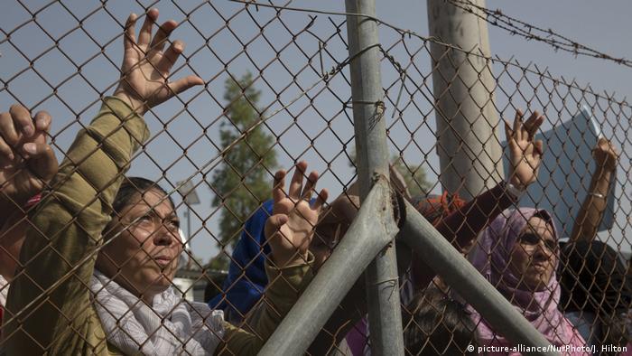 Беженцы на греческом Лесбосе