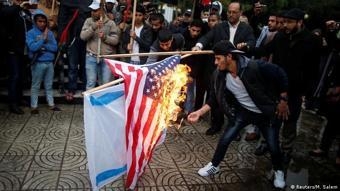 Palästina Gaza Proteste