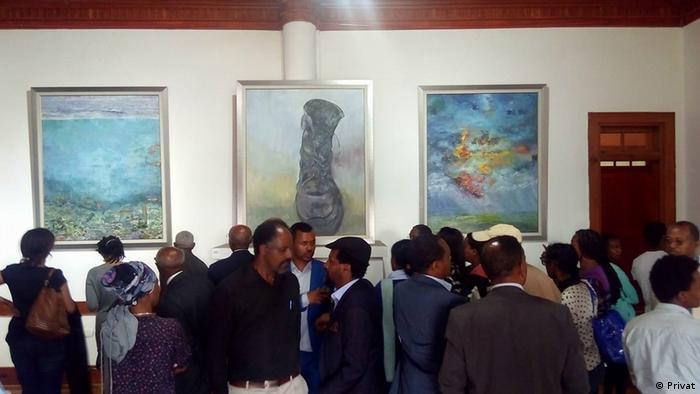 Äthiopien Künstler Chernet W/Gebreal Sisay