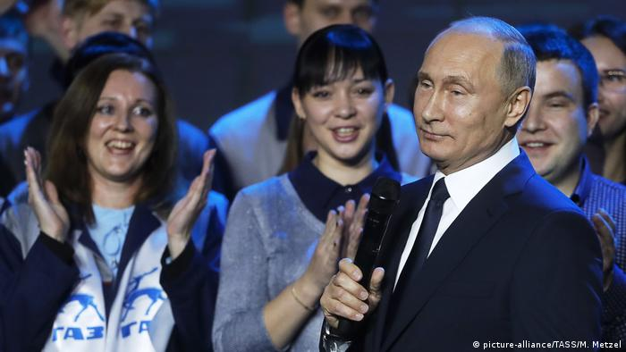 Putin in Nizhny Novogorod (picture-alliance/TASS/M. Metzel)